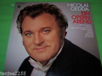 Nicolai Gedda - Ein Opernabend - EMI Gold LP