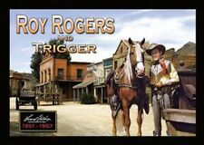 "ROY ROGERS FRIDGE MAGNET. 4"" X 5"". TV WESTERNS. KING OF COWBOYS...FREE SHIP"