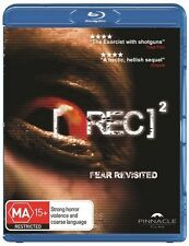 [Rec] 2 (Blu-ray, 2011) Brand New & Sealed