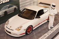 """Porsche 911 GT3 RS """"Top Gear"""" 1:43 weiß Minichamps neu & OVP"""