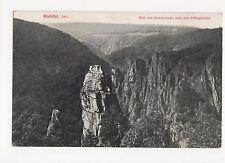 Germany, Bodetal, Harz Blick vom Hexentanzplatz Postcard, A515