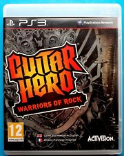 Guitar Hero: Warriors Of Rock (USB INSTRUMENT REQUIRED) PS3 PLAYSTATION 3 PAL UK