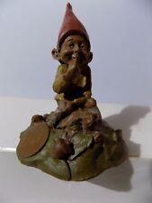 "Nos Vtg Tom Clark Gnome ""Eddie"" '84 Ed #44 Riding a Turtle Unused!"