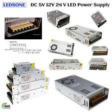 DC 5/12/24V LED Netzteil Trafo Schaltnetzteil Adapter Power Supply für LED Strip