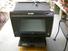 Canon 370T-D microfiche reader printer and Bruning 95 reader