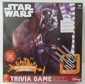 Cardinal Star Wars Trivia Game Disney 650+ Questions - NEU NEW eingeschweißt