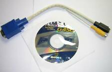 Matrox Millennium G450 Software Driver Install CD-ROM +TV Out Cable