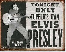 * Elvis Presley Konzert Plakat Poster Werbeschild  *508