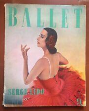 Livre BALLET SERGE LIDO n°9 Danse 1959 *
