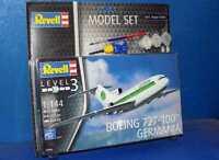 Revell 1/144 63946 Boeing 727-100 Germania Gift Set Model Kit