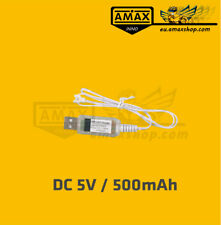 USB Ladekabel 5V 1S 3,7V 500mA High Quality Charging Cable Charger LiPo AMAXinno