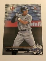 2017 Bowman Draft Baseball 1st Bowman #75 - Keston Hiura - Milwaukee Brewers