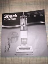 Shark Rotator Professional Vacuum w/Accessories | NV400 Manual book only