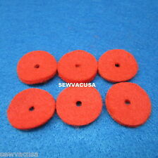 SINGER SEWING MACHINES PARTS Featherweight 221, 222, SPOOL Pin FELTS # 8879 (6)