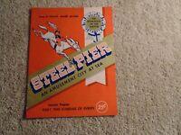 1960 Steel Pier - Atlantic City NJ Program - Avalon Rydell Clark Twitty Cash +++