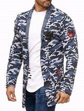 Young SALVAJE Fashion Estilo Militar Camuflaje moda Americana chaqueta larga