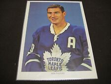 1963-64 WHEAT CHEX HOCKEY PHOTO VERY HIGH GRADE TORONTO BOB PULFORD RARE!