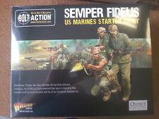 Perno de acción Semper Fidelis XS marines ejército Starter Set 999 puntos-Nuevo y Sellado
