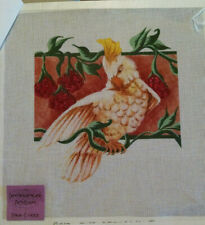 Cockatoo The Offering I Handpaint Needlepoint Canvas