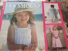 Les Smocks Livre Par Kathy Dykstra -Editions De Saxe- Couture à Coudre Pou