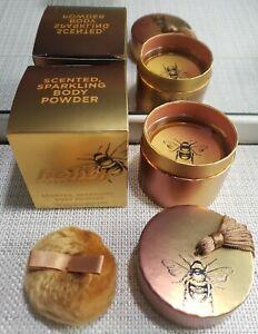 💯URBAN DECAY Honey Scented Sparkling Body Powder Sealed 8g .28oz + Puff FREE SH