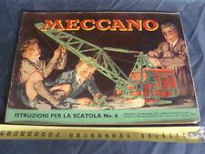 istruzioni Meccano scatola 6