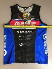 Pactimo Mens Size Meidum M Tri Triathlon Top Jersey (6910-70)