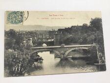 CPA 81 Tarn - Castres - Les quatre ponts sur l'Agout