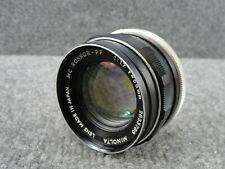 Minolta MC Rokkor-PF 1:1.7 f = 55 mm Lens