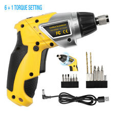 3.6V Electric Cordless Screwdriver Household Battery Drill Driver Rechargeable