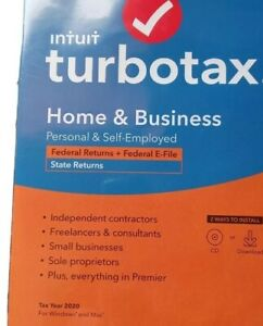 Turbotax home business 2020
