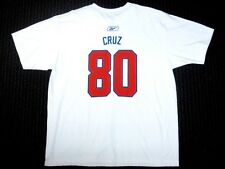 New York Giants NFL Reebok Organic Victor Cruz   80 White T Shirt Mens  Large L 09bfe5c60