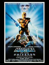 """MASTERS OF THE UNIVERSE 16"""" x 12"""" Reproduction Movie Poster"""