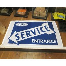 Ford Service Flag Banner Sign garage mancave hotrod fomoco mustang 1932 32 model