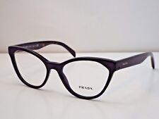 Authentic PRADA VPR02T 1AB-1O1 Black Tortoise Eyeglasses Frame DEMO MODEL $305