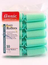 """ANNIE 1"""" LARGE FOAM HAIR ROLLERS - 10 PCS. (1053)"""
