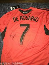 DC United Dwayne De Rosario Signed Autographed MLS Soccer Authentic Jersey COA