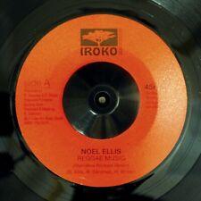 """NEW 7"""" Noel Ellis - Reggae Music  /  Lone Ark Riddim Force - Dub Music"""