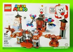 LEGO Super Mario King Boo and the Haunted Yard Expansion Set 431 pcs - NEW 71377