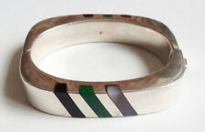 Bracelet chaine en argent massif Mexico silver design 1970 style Jensen