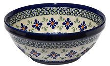Polish Pottery Bowl 6 Inch Diameter from Zaklady Boleslawiec 848/du60
