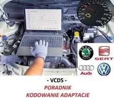 VCDS - zeszyt poradnik kodowania adaptacji grupa VAG