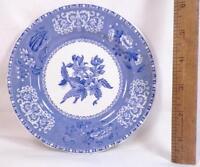 Copeland Spode Camilla Bread & Butter Plate Blue Transferware Vintage