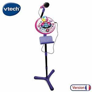 Vtech KIDI Superstar Light Rosa Kididreams Spielzeug Konzert Mikrofon B-WARE