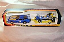 Corgi Gift Set #29 Ferrari Daytona and Race Car, Mint in Original Box