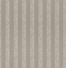 Silver Stripes Wallpaper Metallic Shiny Shimmer Vinyl Textured Patterned Rasch