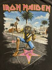 Iron Maiden Somewhere Back In Time Tour LA Forum Event Shirt XL Not a Reprint