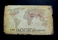 Hot Toys DX05 Raiders of the Lost Ark Indiana Jones 1/6 Scale MAP ( 25X15 CM )
