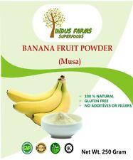 Banana Fruit Powder Dietary Supplement Superfood 100 Natural 250gms