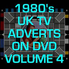 Classic 80's British UK TV Adverts DVD Vol 4 - RETRO NOSTALGIA VINTAGE XMAS
